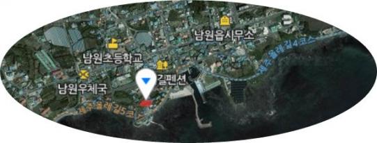 남원리남원포구주변 해안도로접한 임야 사진정보