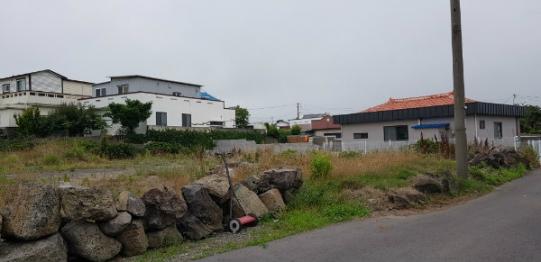 함덕중학교 인근의 나대지 사진정보