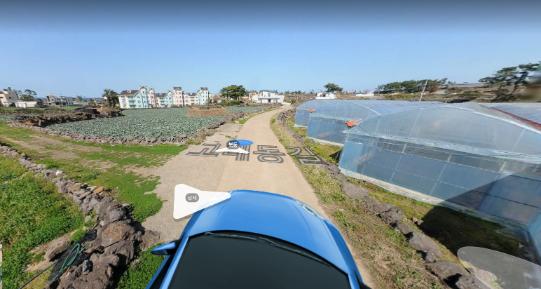 고내리 해안도로와 일주도로 사이에 위치한 전원주택용 작은토지 사진정보